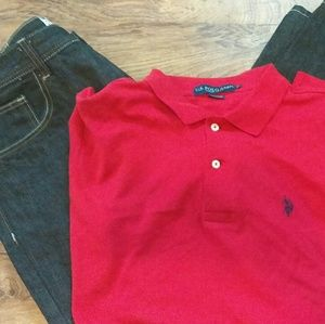 Other - Brand New Polo Shirt and jeans
